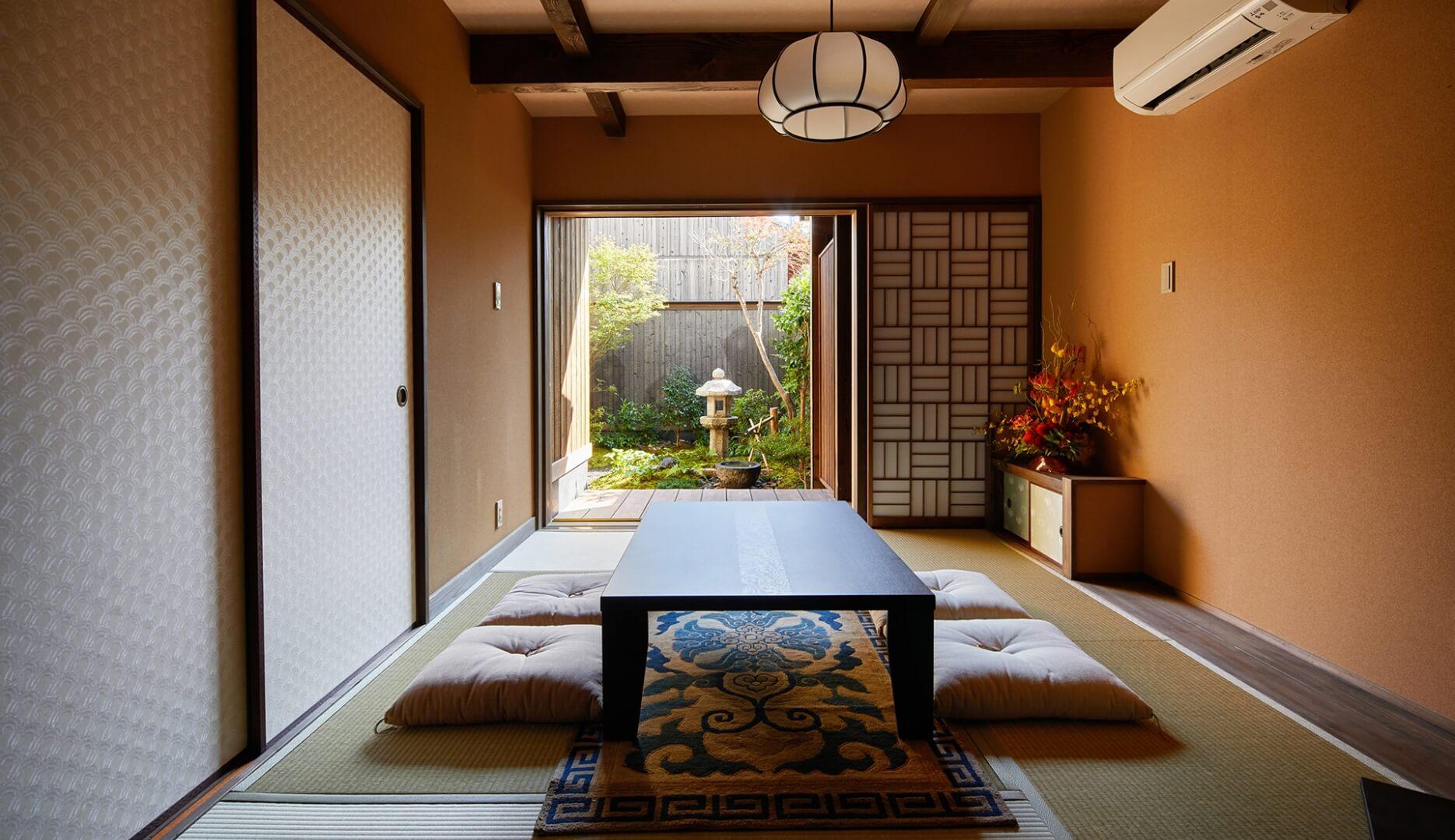 京町家で過ごす優雅なひととき